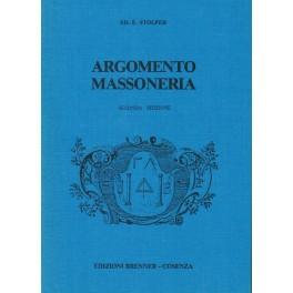 Argomento Massoneria - Ed. E. Stolper