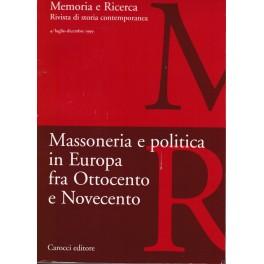 Massoneria e Politica in Europa fra Ottocento e Novecento
